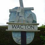 Wacton village sign